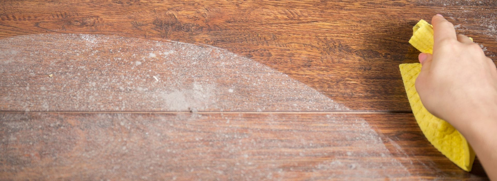 Removing Salt Residue from Your Floors