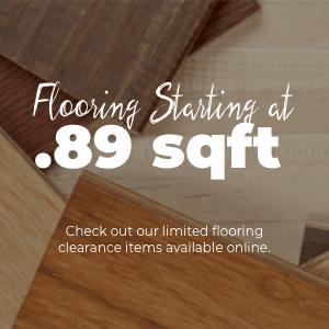 Flooring from $.89