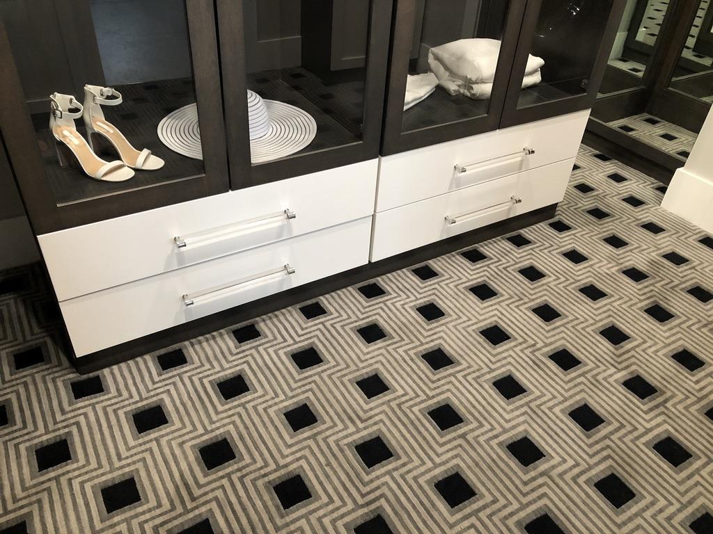 Bob Webb patterned carpet