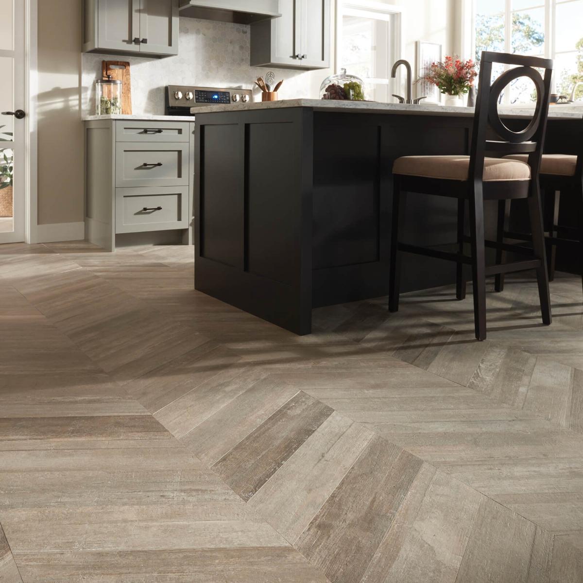 chevron hardwood flooring