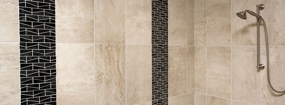 contrasting grout and tile image